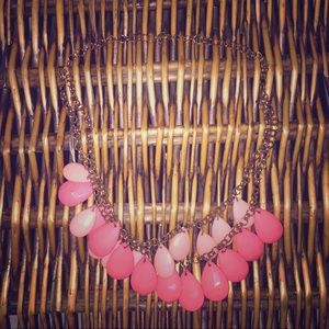 Pink statement necklace ❤️